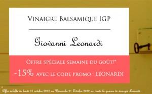 code promo : LEONARDI