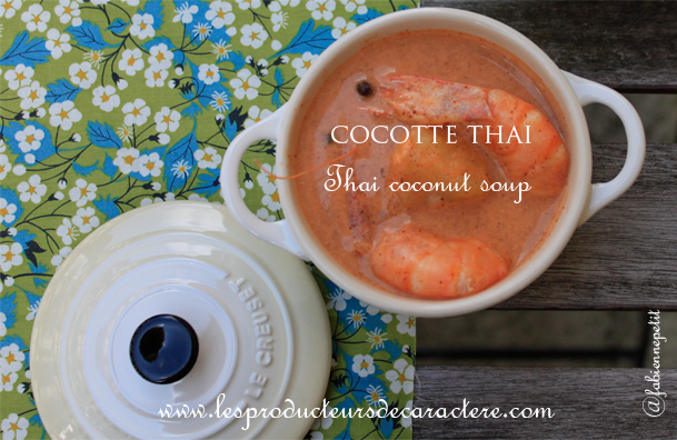 Cocotte Thaï coco curry