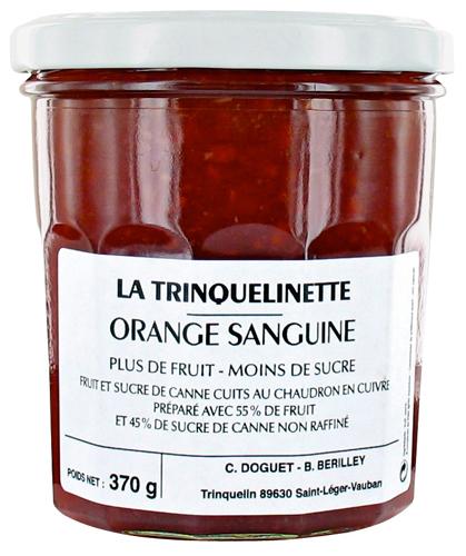 Confiture d'orange sanguine - Trinquelinette