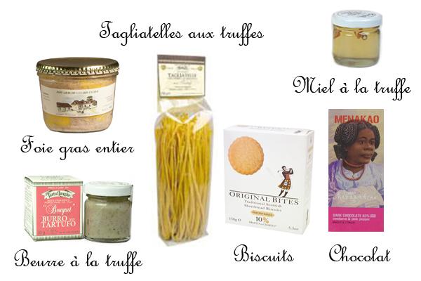 Coffret Foie gras, Truffes & Gourmandises