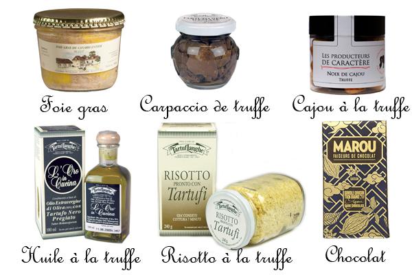 Coffret Gourmand Foie Gras truffe luxe