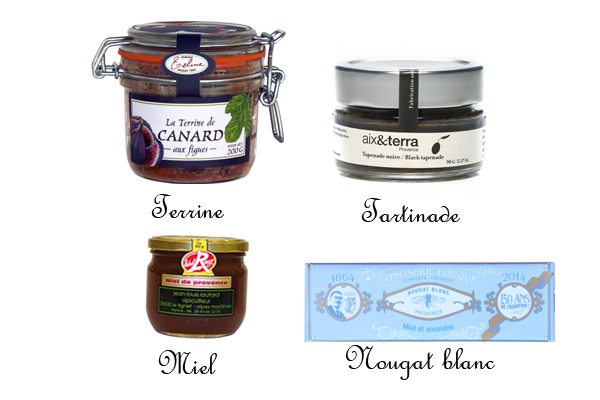 Coffret Gourmand Provence